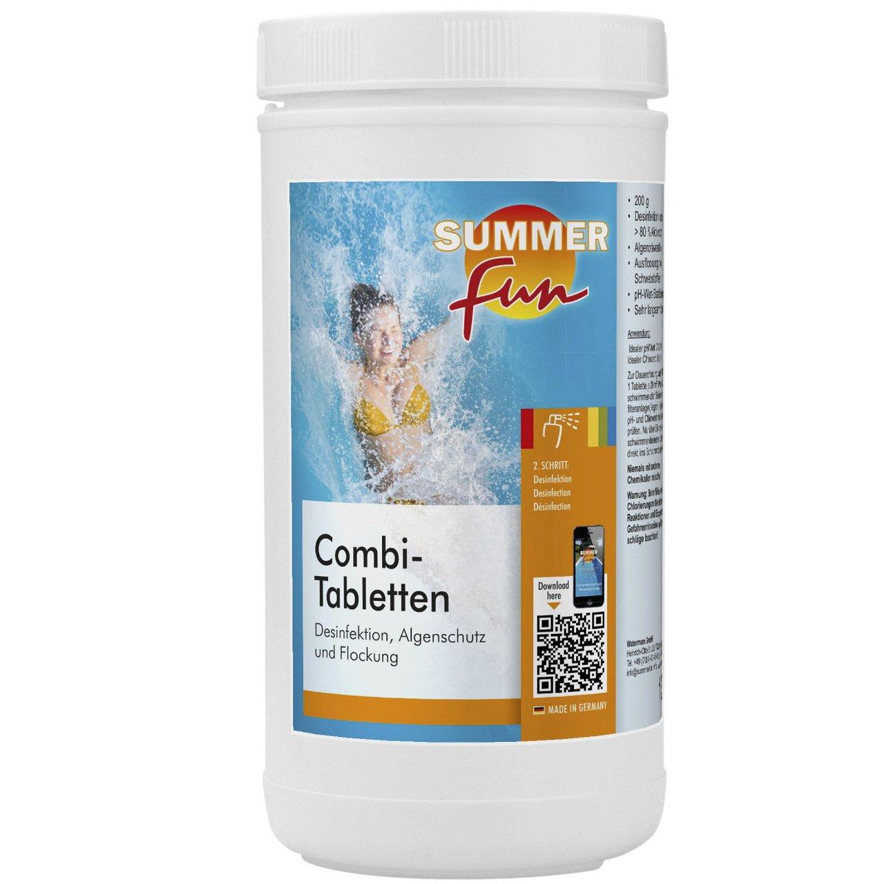 Combi Tablette ( Algen, Flock, Chlor ) 1,2 kg