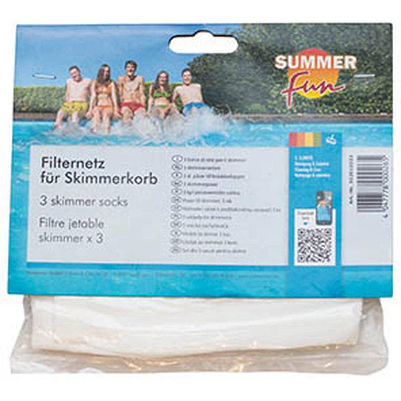Filternetz für Skimmerkorb 3er Pack