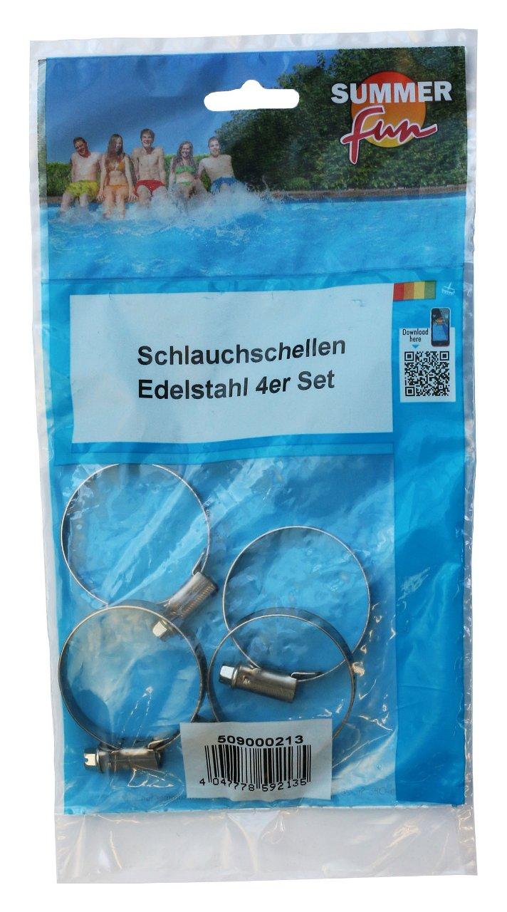 Schlauchschellen Edelstahl 4-er Set 30-45mm