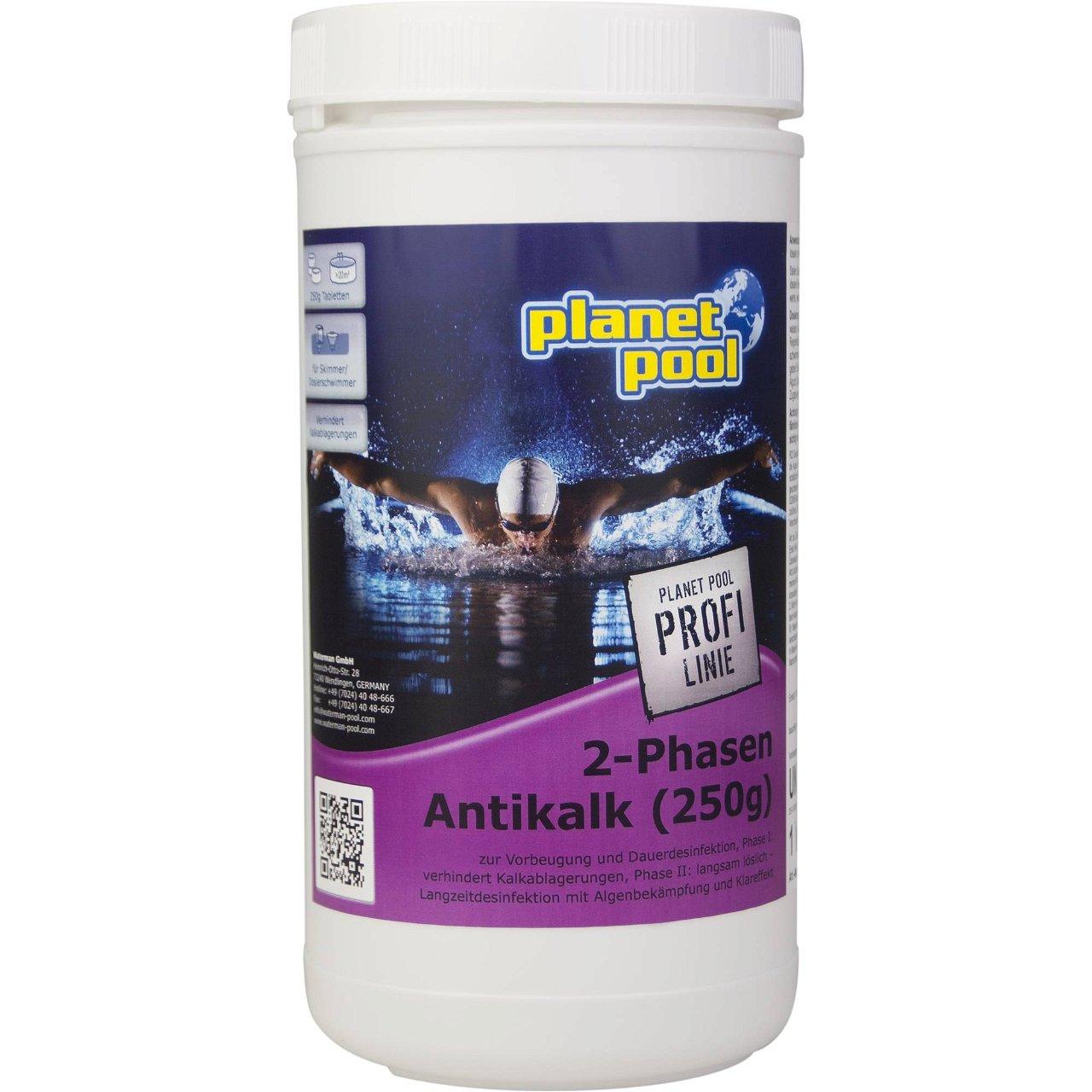 PLANET POOL - Profi Linie    2-Phasen Antikalk Tabletten 1 kg