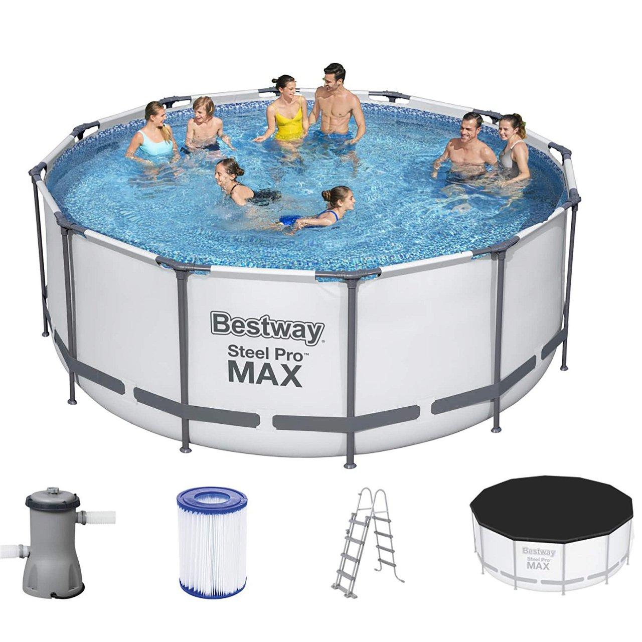 Bestway Frame Pool Steel Pro MAX 366 x 122 cm