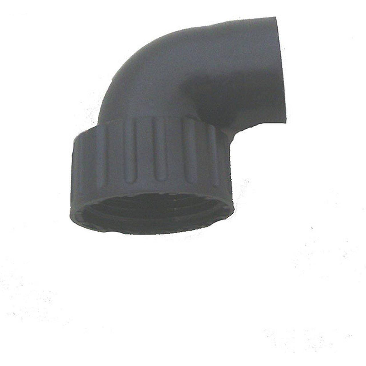 Winkel zwischen Pumpen und UVC - Klärer