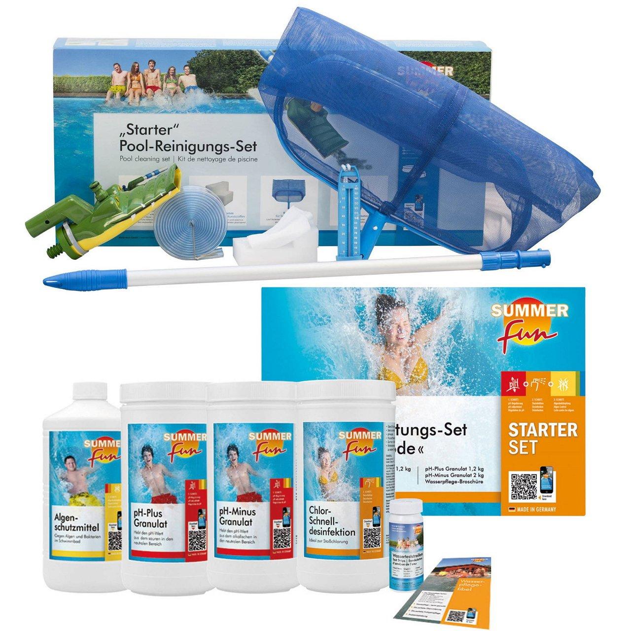 Summer Fun Starter-Set Pool-Reinigung & Wasserpflege - all in one