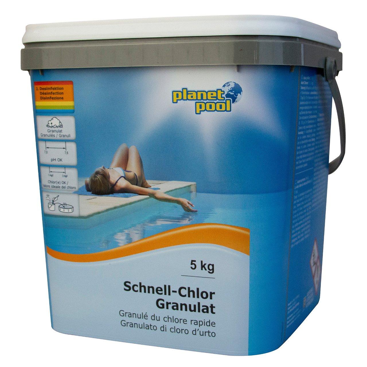 PLANET POOL Schnell-Chlor-Granulat 5 kg