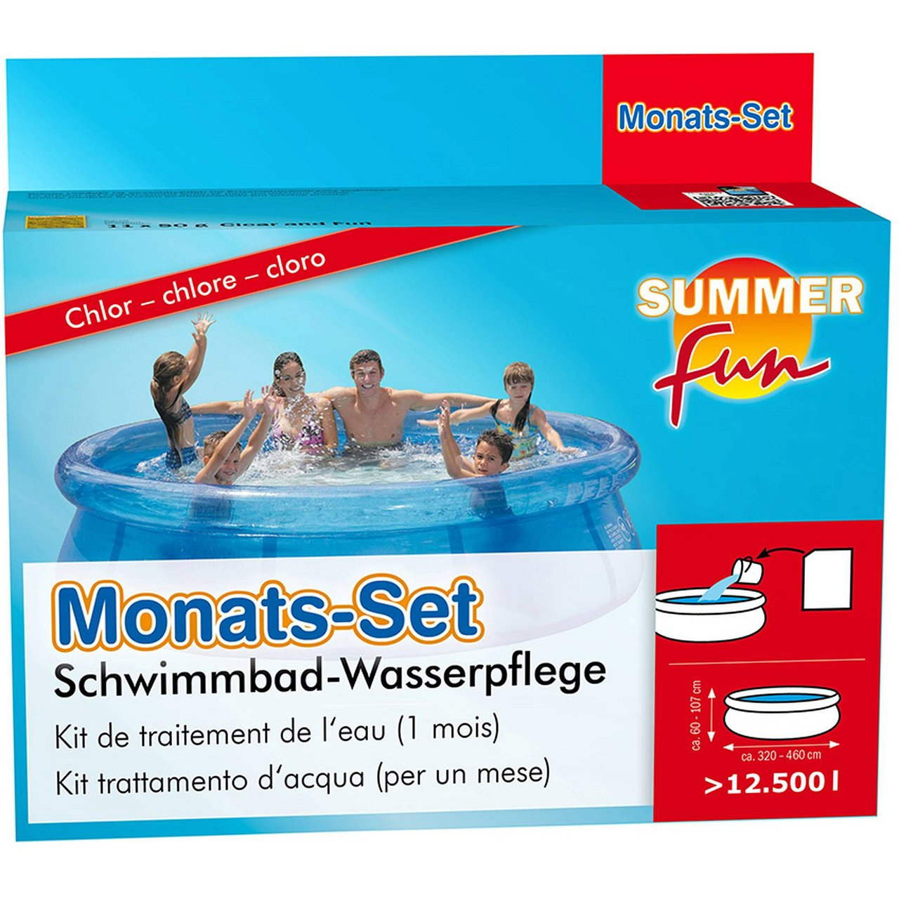 Summer Fun Monatsset Chlor