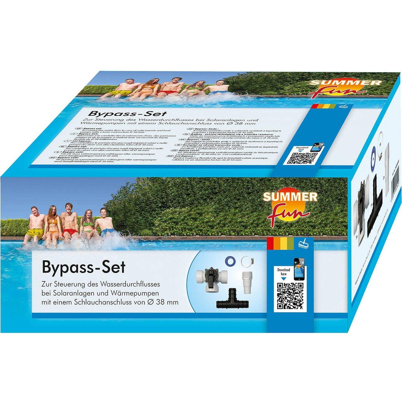 Bypass-Set für Solarmatten oder Wärmepumpen