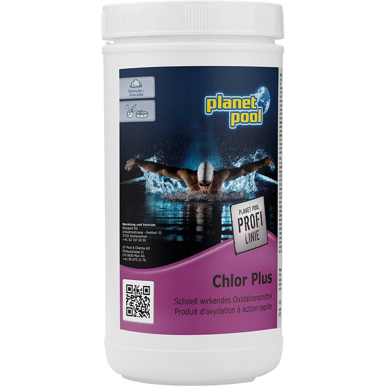 PLANET POOL - Profi Linie | Chlor Plus 1 kg