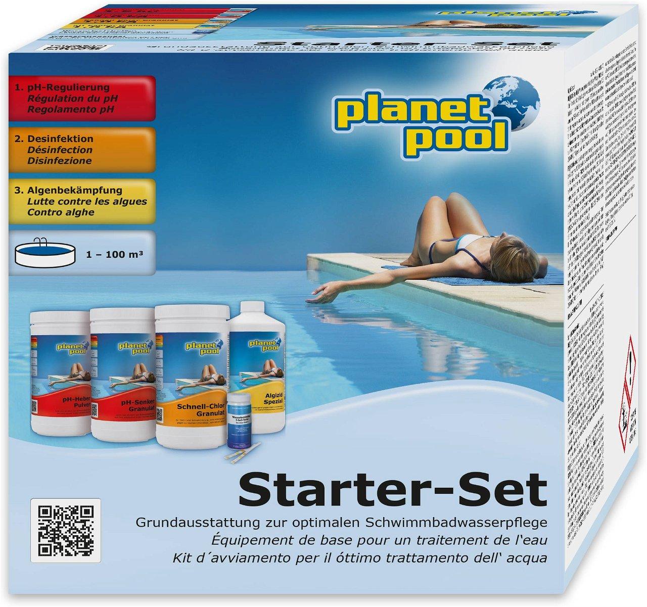 Planet Pool Wasserpflege Starter-Set