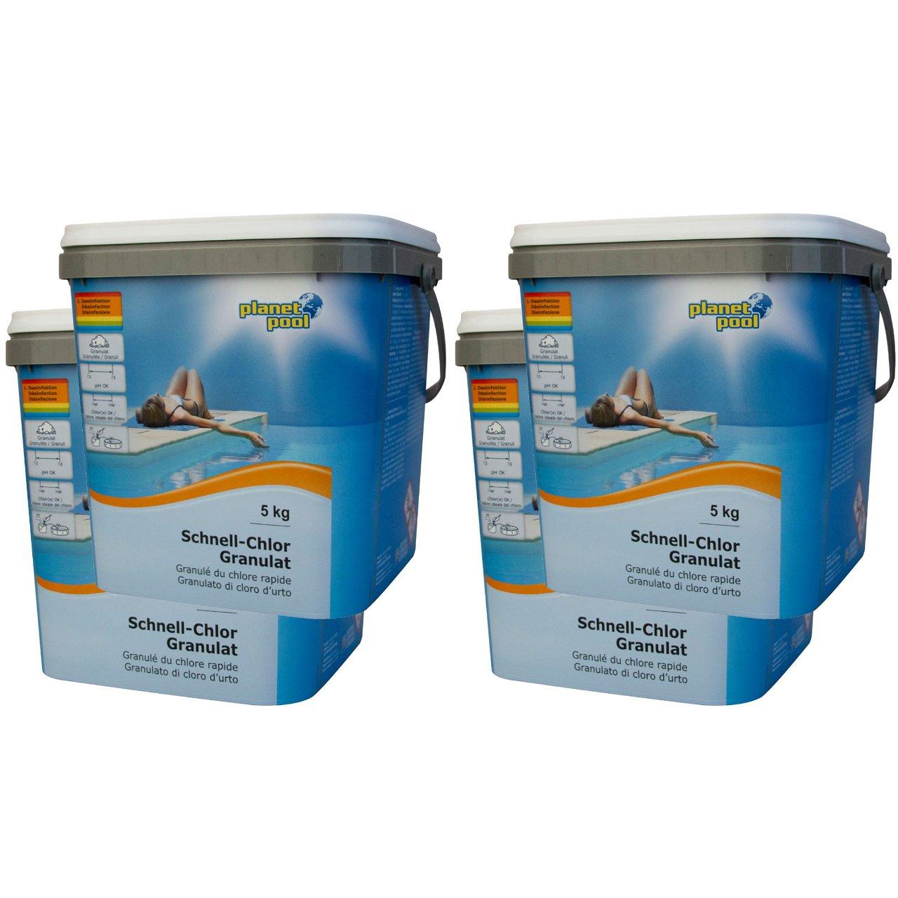 PLANET POOL Schnell-Chlor-Granulat 20 kg