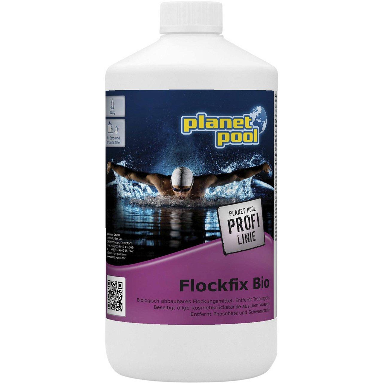 PLANET POOL - Profi Linie |  Flockfix Bio 1 Liter