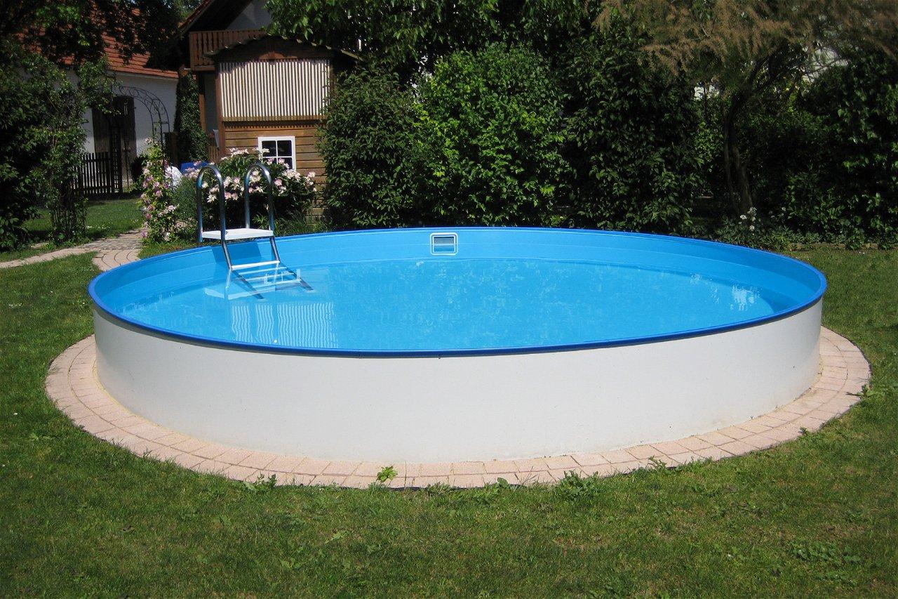 Planet Pool Rundbecken Exklusiv Ø 300x120cm (SW:0,6 IH:0,6)
