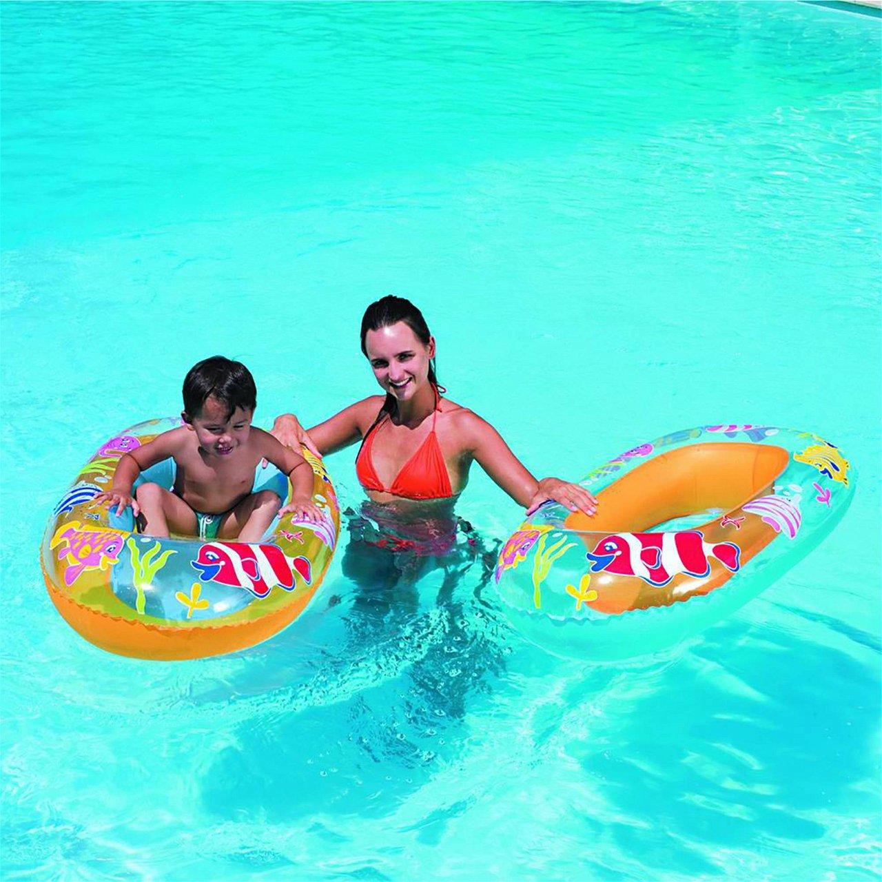 Bestway Poolboot Sea Set, 112x71 cm
