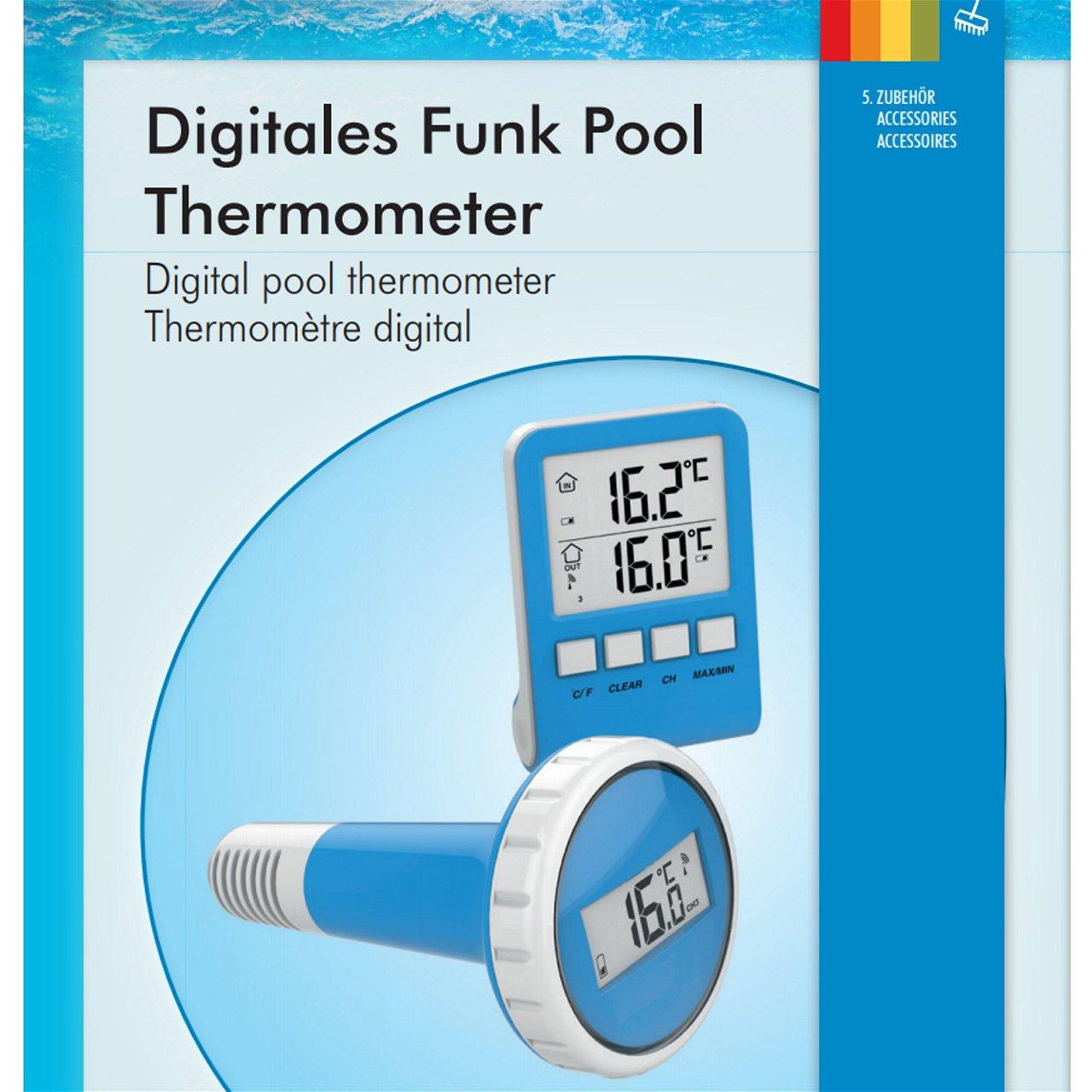 Digitales  Pool Thermometer, Summer Fun