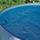 Extra-Solar-Abdeckung rund für Becken 350 cm, 230µ