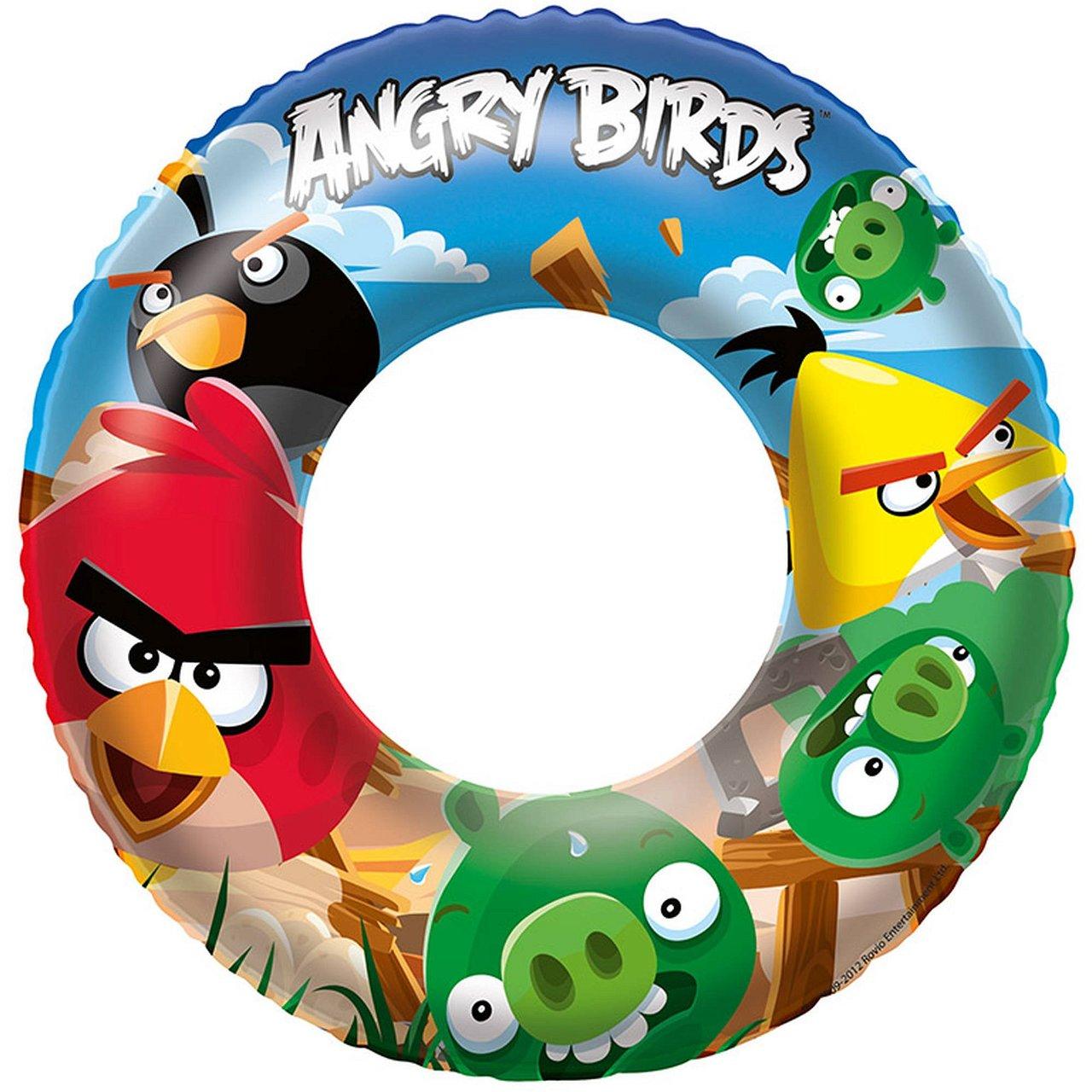 "Bestway 96102B Angry Birds 22"" Swim Ring"