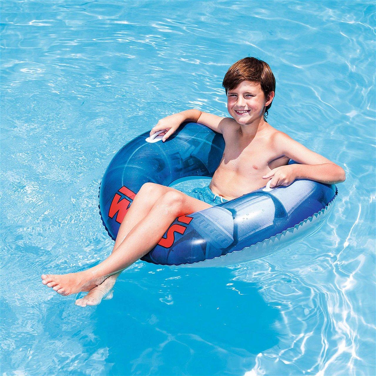 Bestway 91203 Schwimmring Ø 91 cm im Star Wars Design zum Baden im Pool oder Meer
