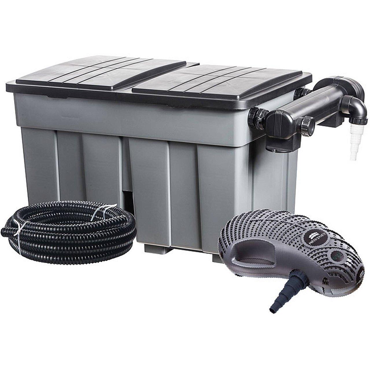 Heissner Mehrkammerfilter Set 36000 inkl. 36 Watt UV-C Teichklärer